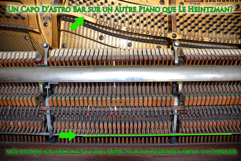 Mécanique du piano Newcombe