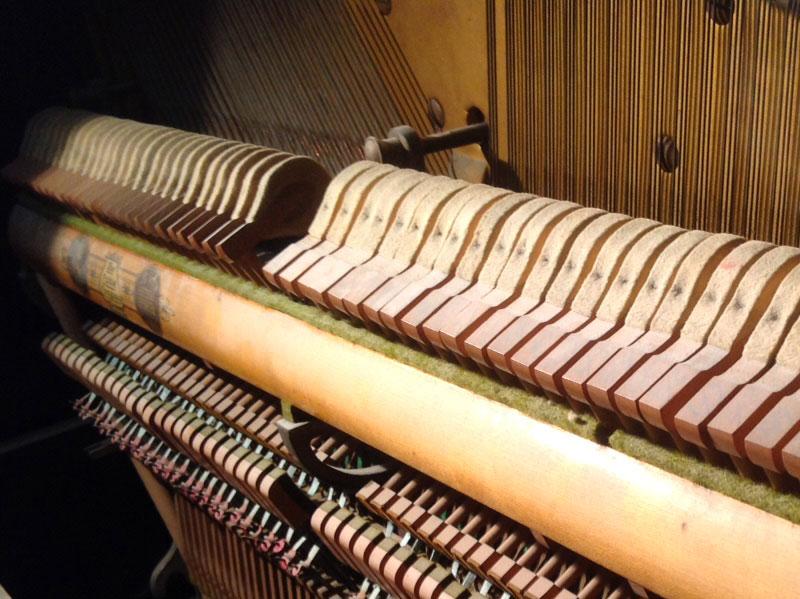Mécanique du piano Cable
