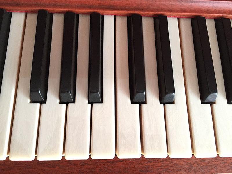 Clavier du Piano L.E.N. Pratte