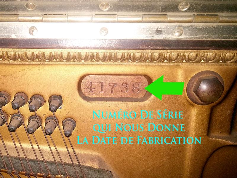 piano Stultz numero de serie