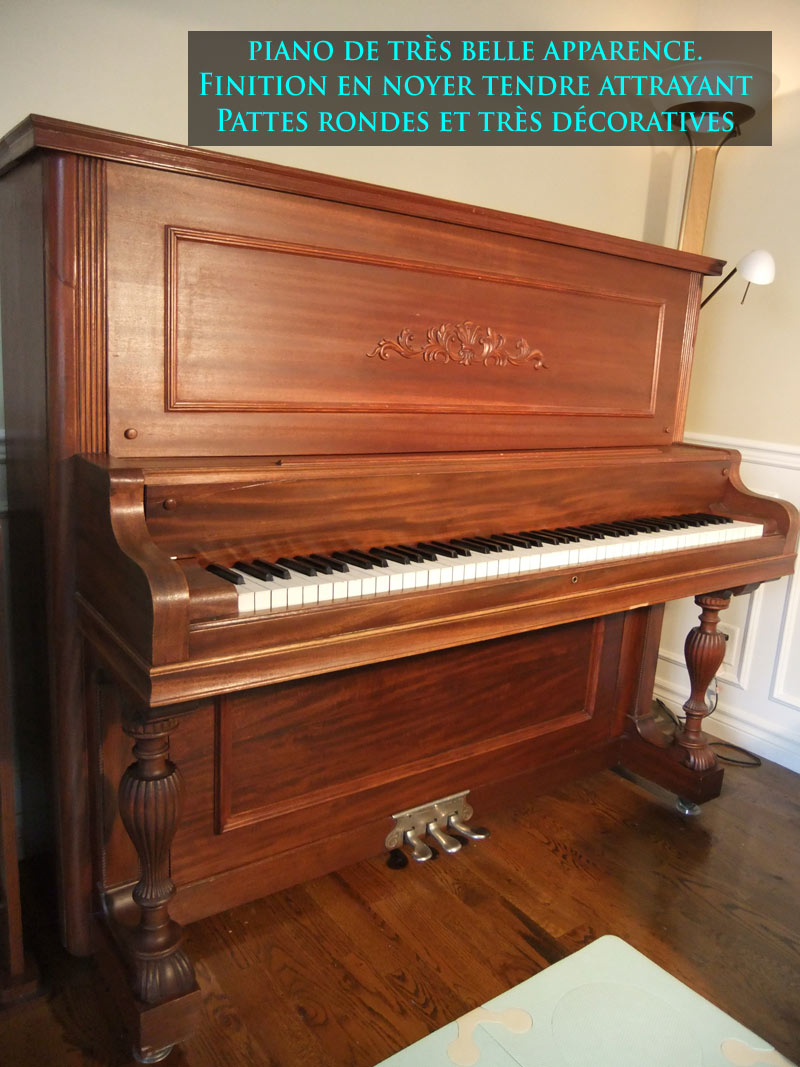 Beau piano droit