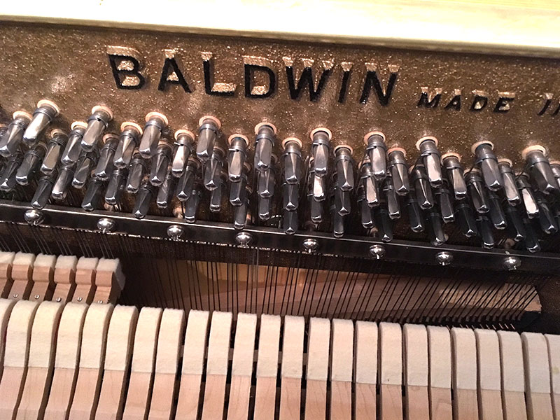 chevilles du piano Baldwin