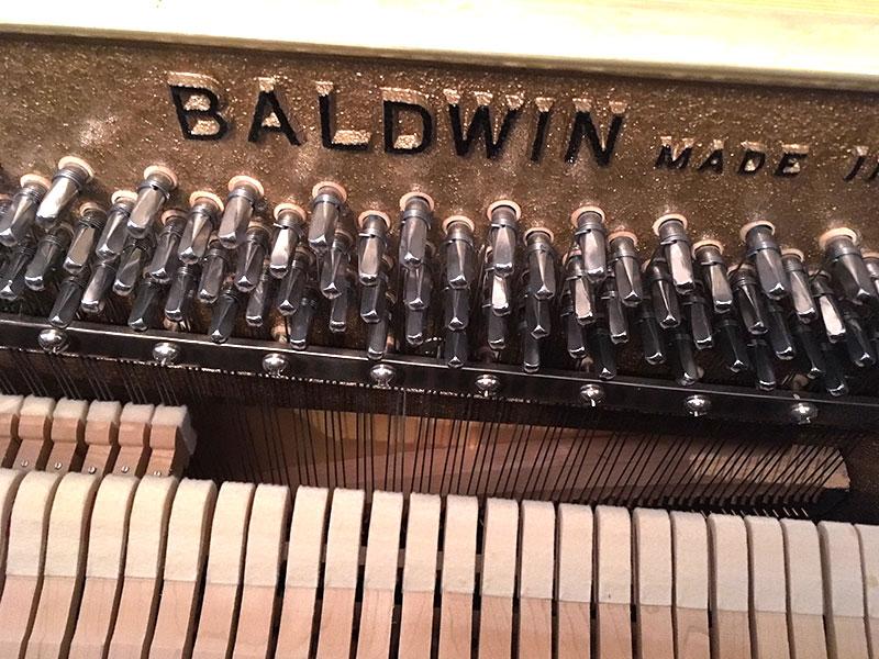 chevilles du piano Baldwin