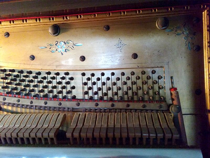Marteaux du piano droit Edison
