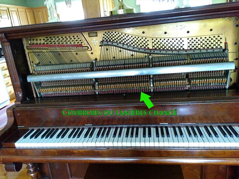 Mécanique du piano droit Edison
