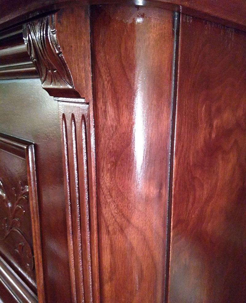 Meuble du piano droit Edison