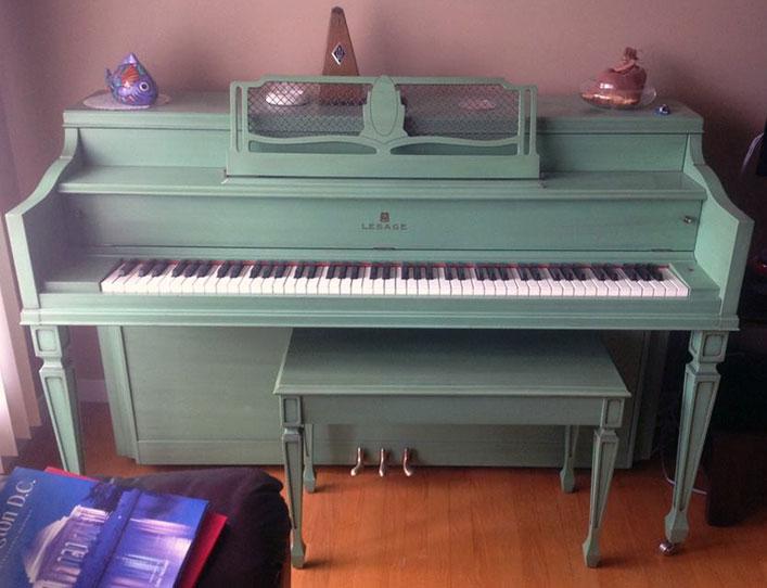 Petit piano Lesage