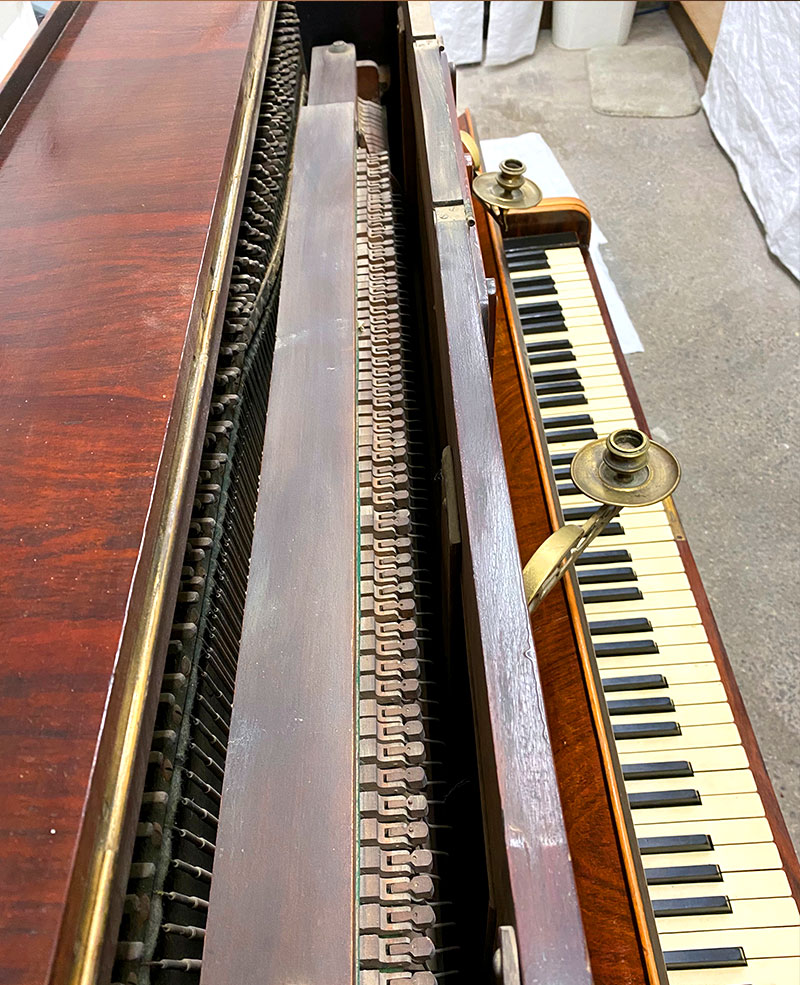 Mécanique du piano Edgar Horne