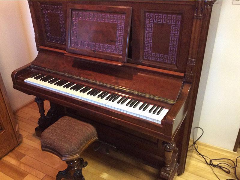 Clavier du Piano Hazelton Bros