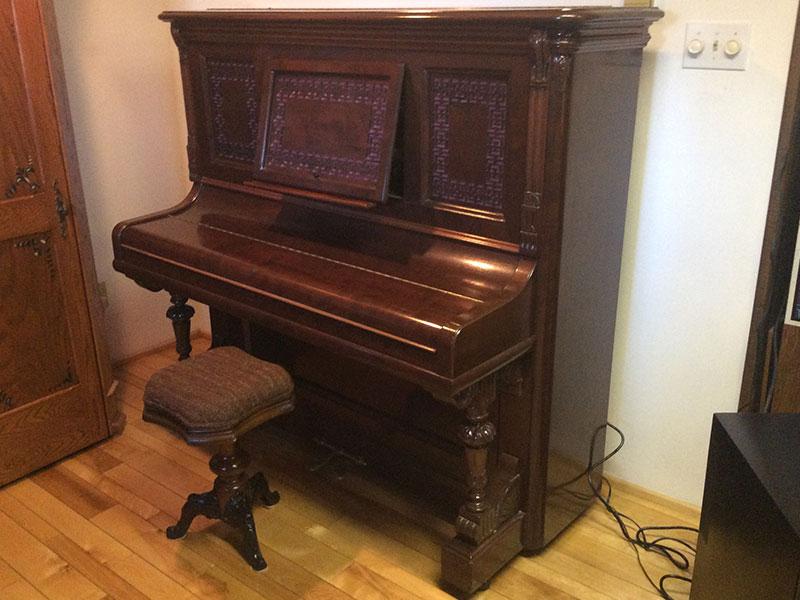 Meuble du Piano Hazelton Bros