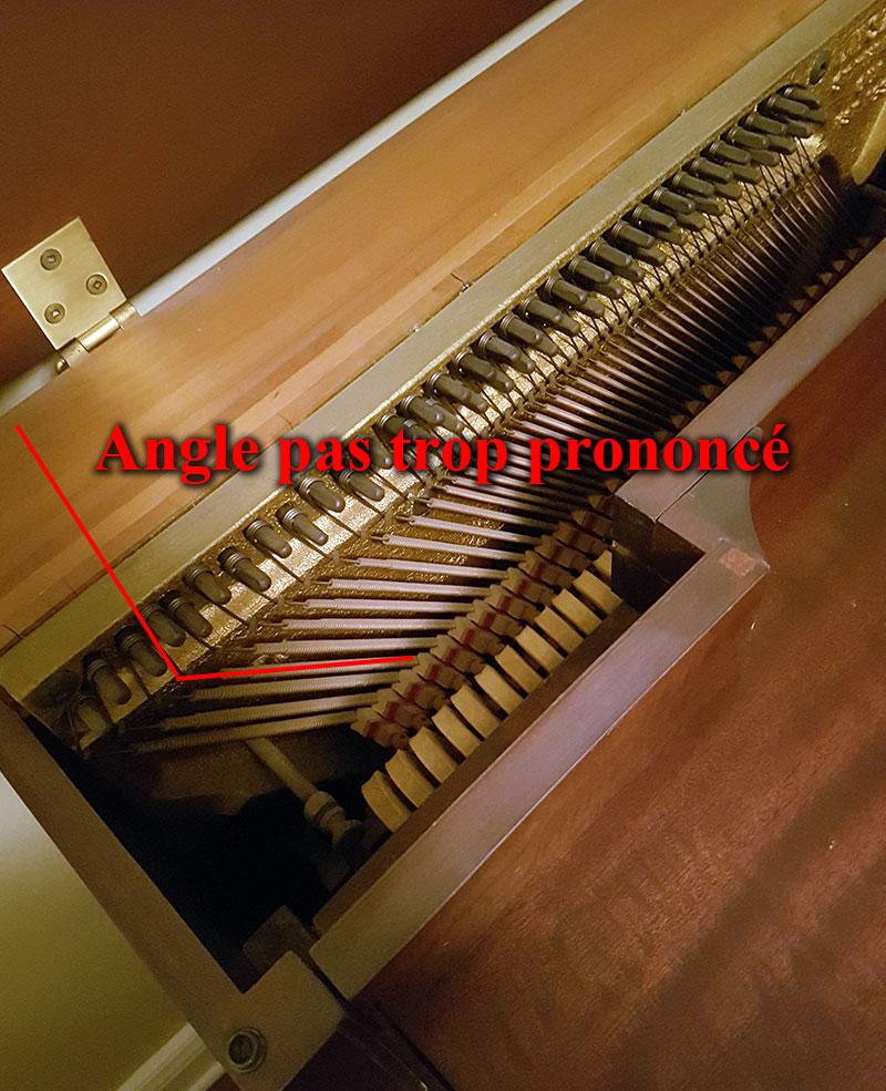Mécanique du Piano droit Lesage
