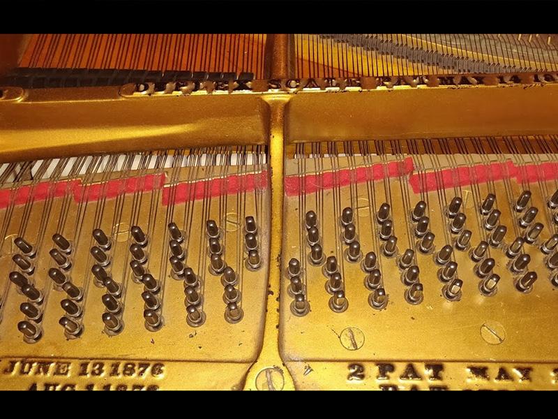 Le duplex scale du piano Steinway ModèleA