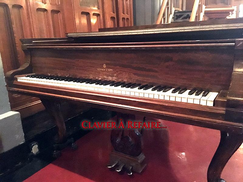 Piano Steinway ModèleA