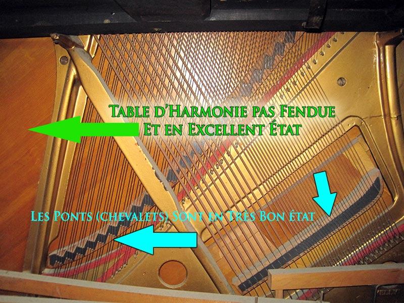 Ponts du piano droit Blouin