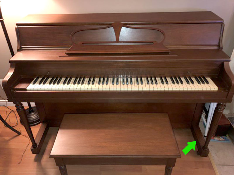 Piano Mason & Rich