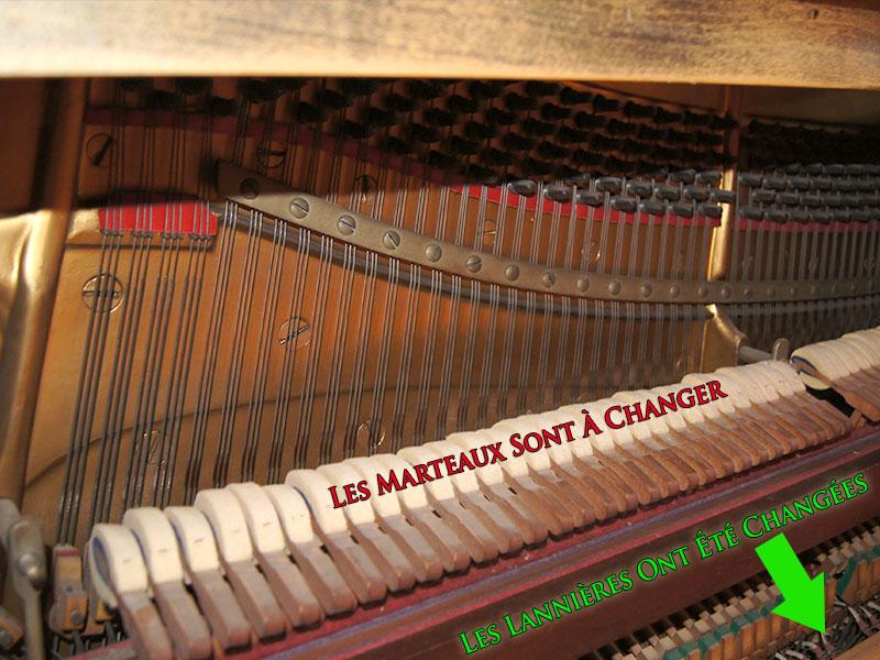 Mécanique du piano Knabe