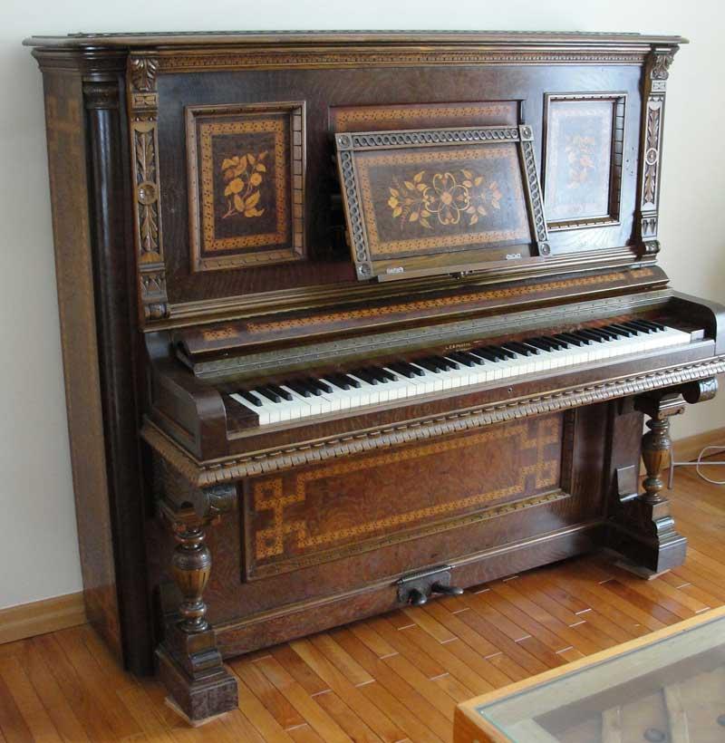 Le meuble du piano Berlin