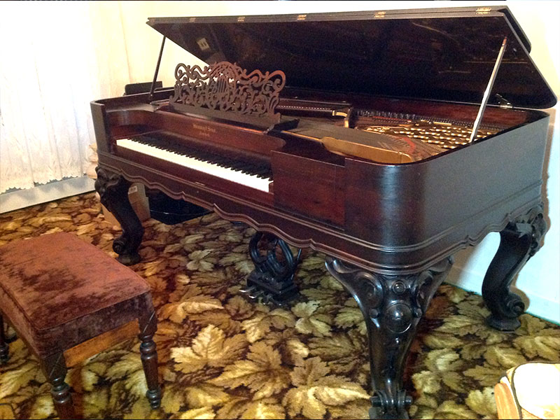 Meuble du Piano Table Steinway