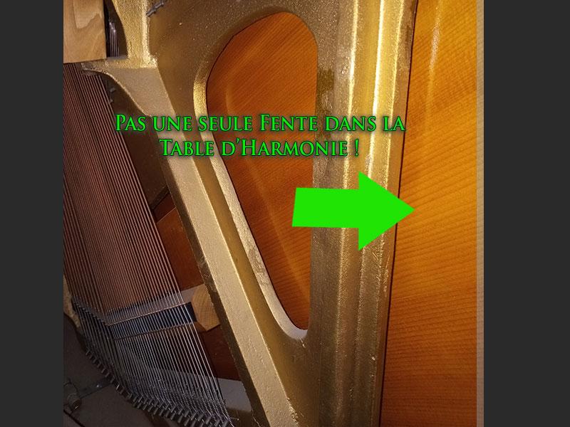 Piano droit L.E.N. Pratte table
