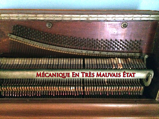 Mécanique du Piano Heintzman