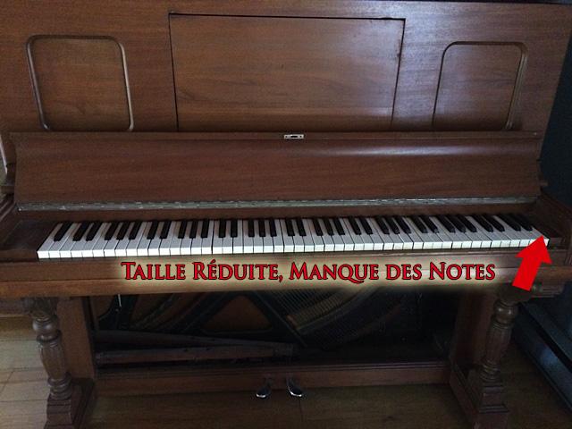Piano Heintzman de taille réduite