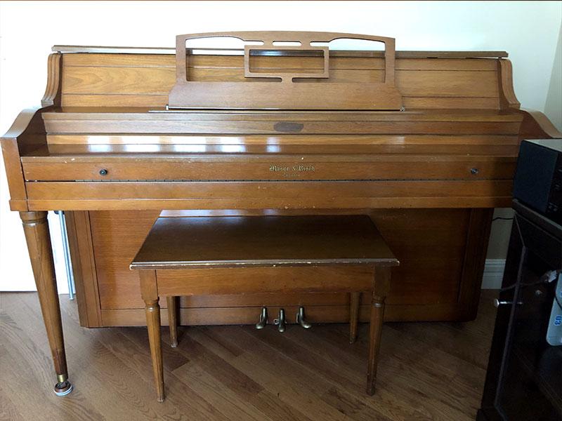 Piano Mason & Risch