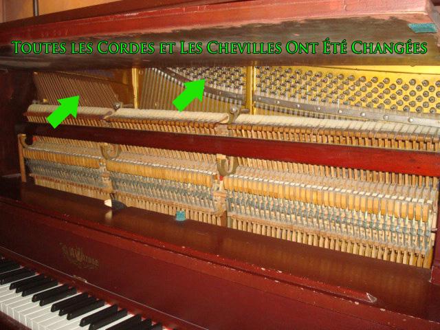 Piano Ricca reconditionné