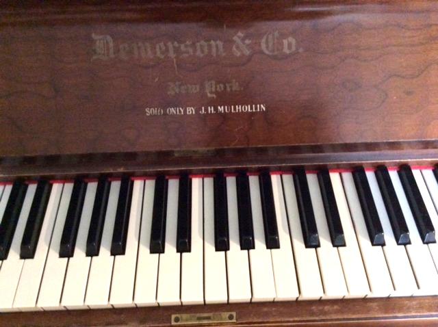 Clavier du piano Demerson