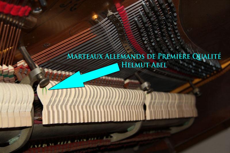 Marteaux Helmut Abel sur le piano Berlin
