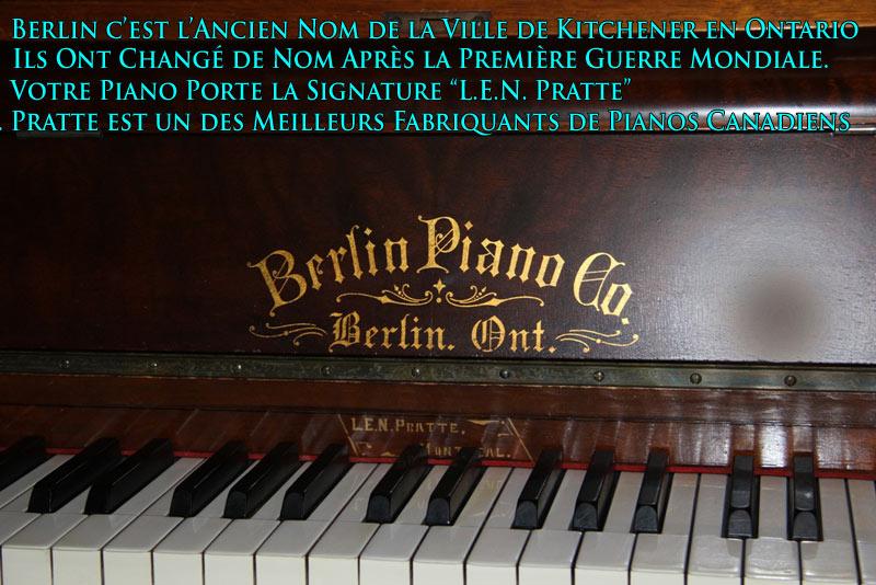 La signature pratte du piano Berlin