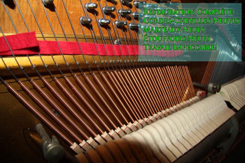 Restauration complète du piano Berlin