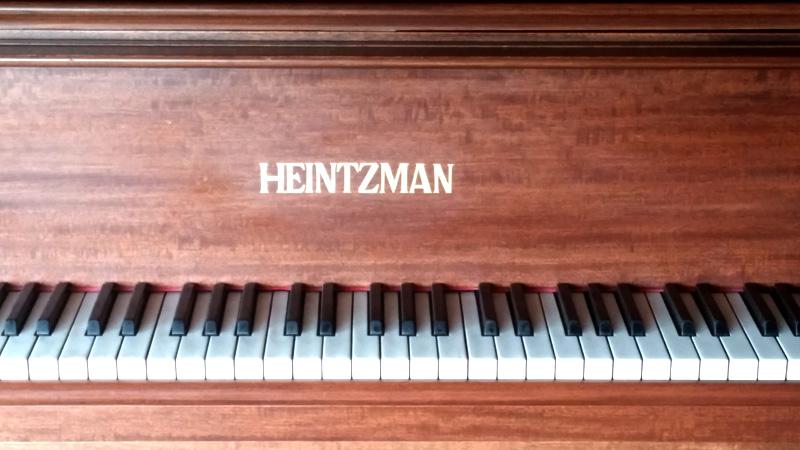 Clavier du Piano Heintzman model D