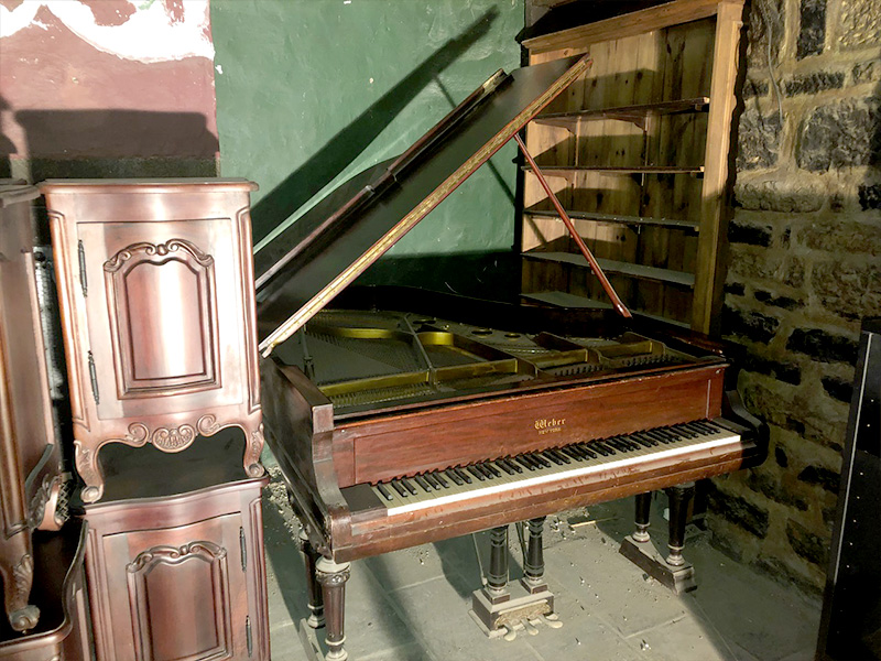 Le meuble du piano Weber