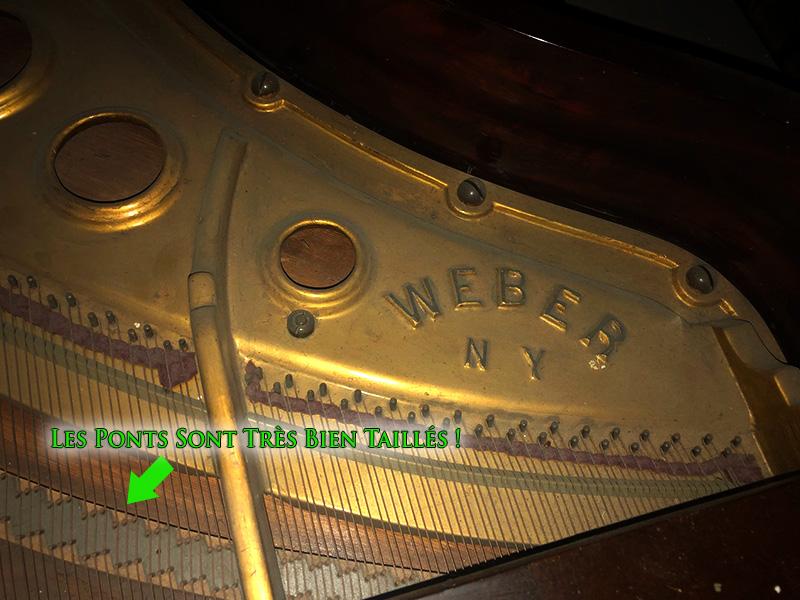 Les ponts du piano Weber