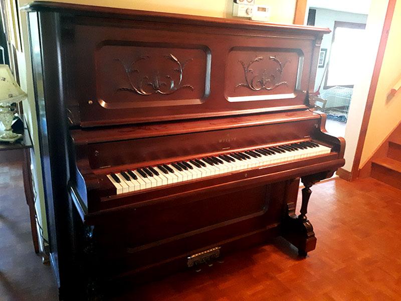 Piano droit Willis de 1902