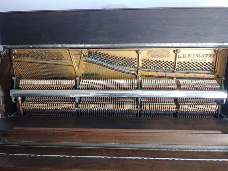 Piano L.E.N. Pratte ouvert