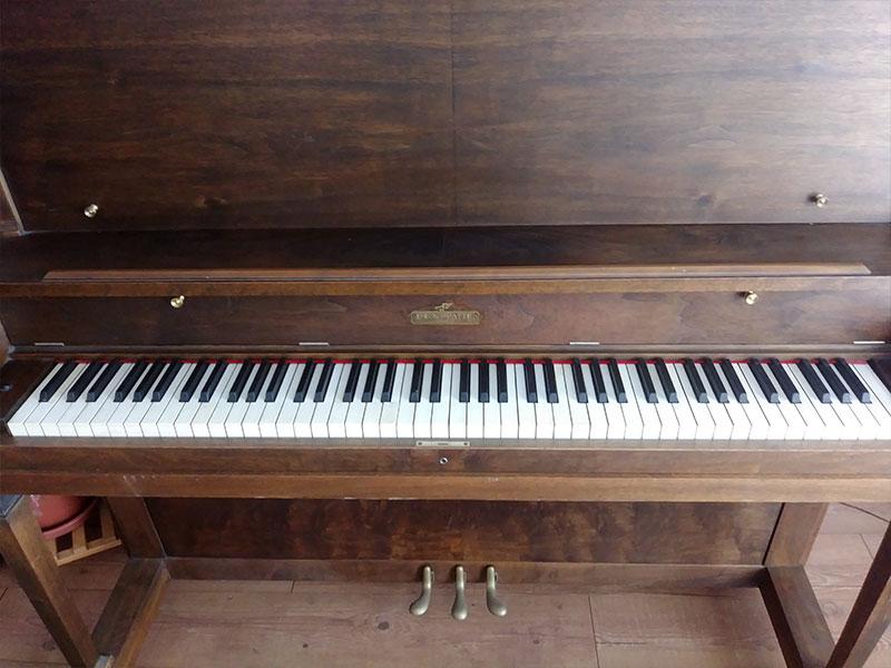 Piano L.E.N. Pratte du Québec