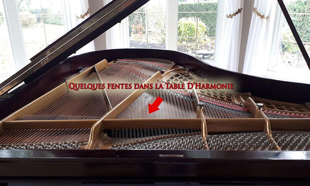Chevilles du piano Henry Miller