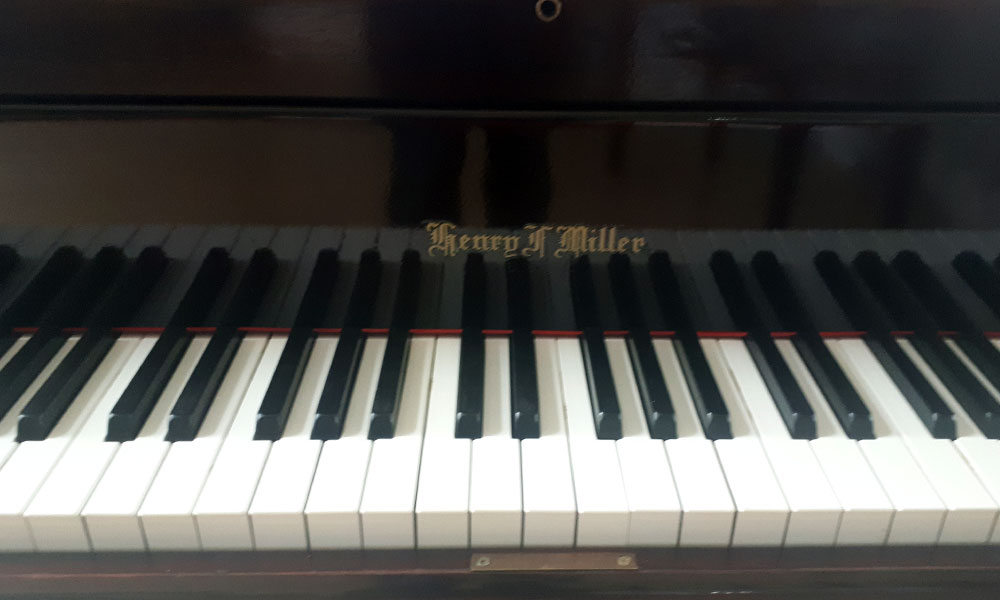 Clavier du piano Henry Miller