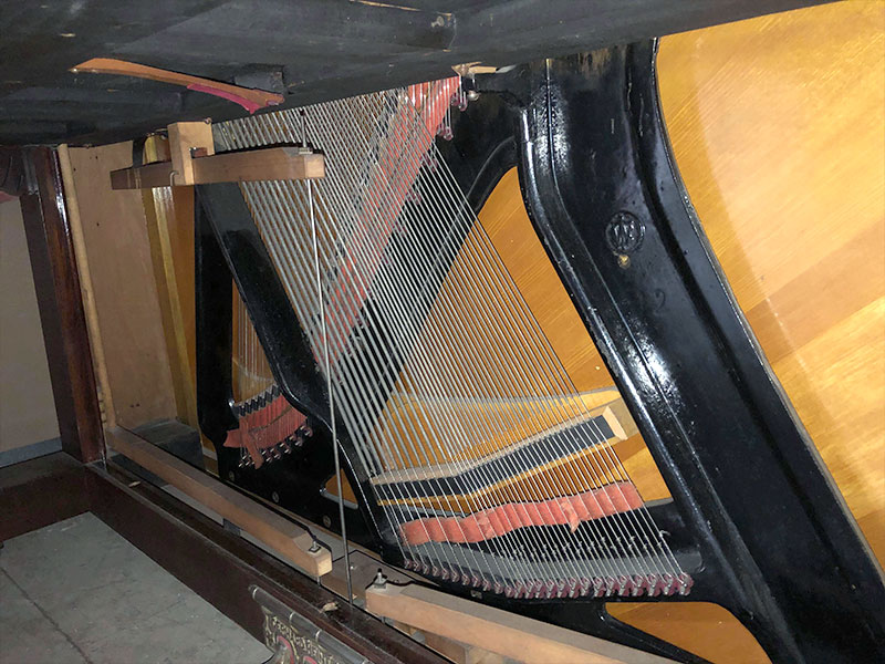 Chevalets du Piano Gerhard Heintzman