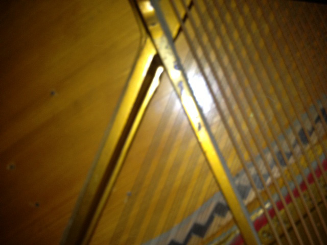 Table d'harmonie du piano Kohler & Campbell