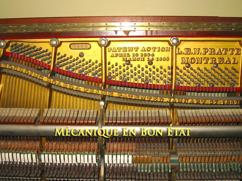 Piano Pratte mécanique