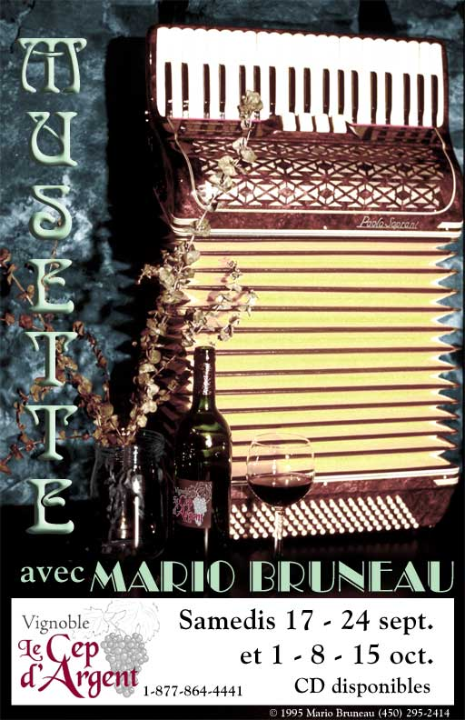 Musette Accordion Poster