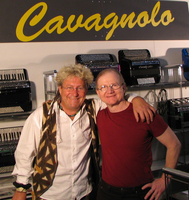 Avec Jean-Louis Noton au Frankfurt MusikMesse d'Allemagne