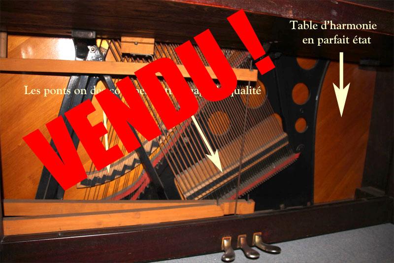 Piano Heintzman upright grand à vendre