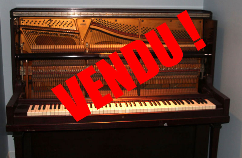 Piano Heintzman upright grand à vendre