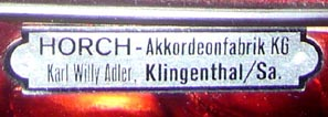 Accordeon Horch