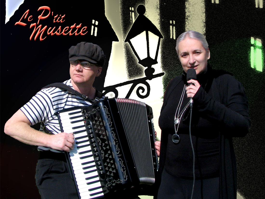Duo le p'tit Musette chanson et accordéon