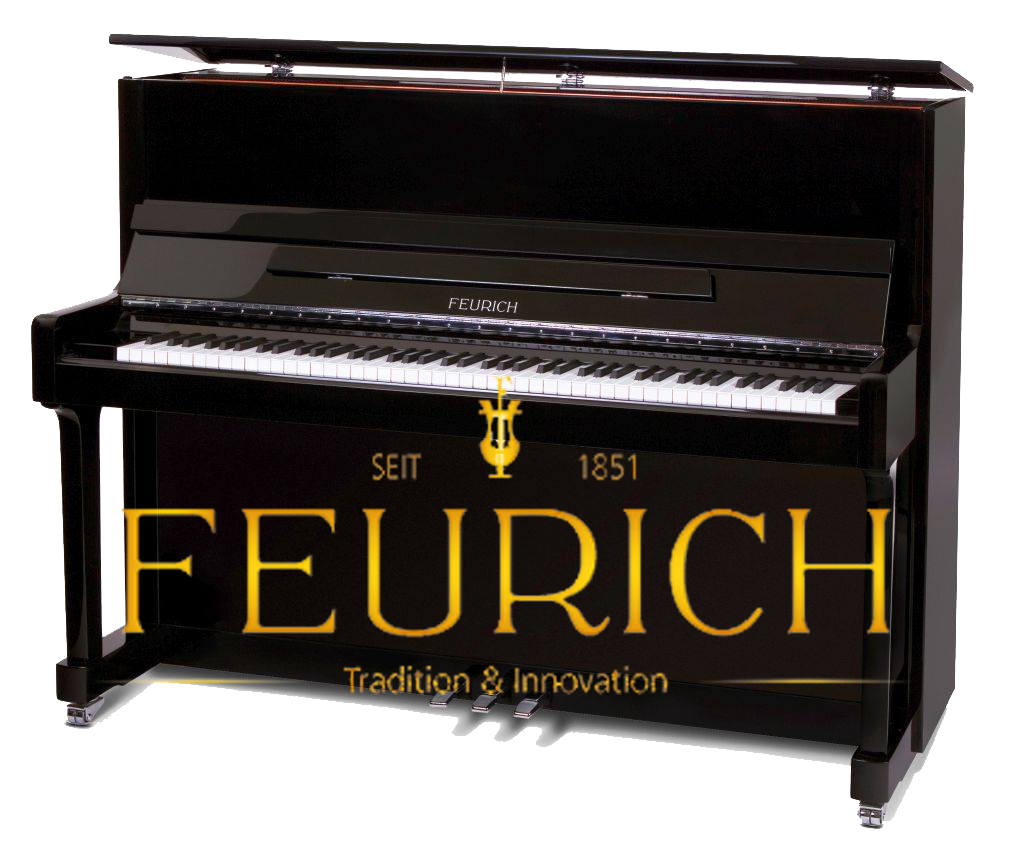 Upright piano Feurich Quebec